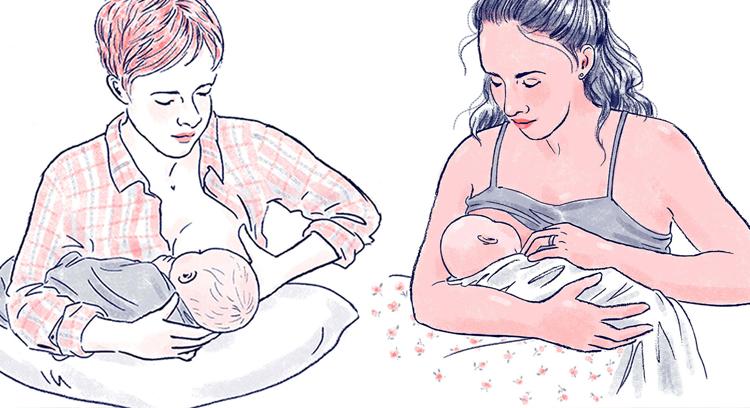 Cách bế và định vị trẻ sơ sinh